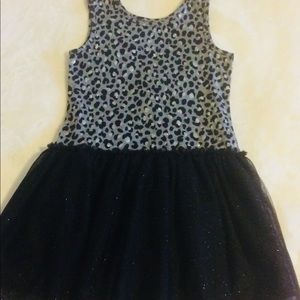 PLACE leopard TUTU Dress medium-7/8